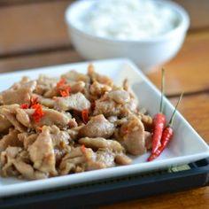 Spicy Garlic Chicken