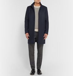 TheoryBelvin Wool-Blend Coat