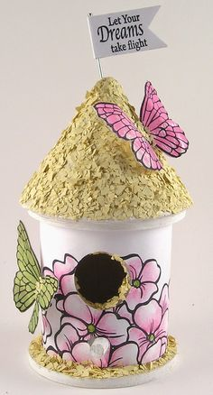 Make Butterfly Houses With 1 2 Gallon Milk Cartons