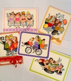 Art Impressions Class cards by Debbie Gunion