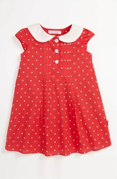 Pumpkin Patch Polka Dot Dress (Baby) available at Little Dresses, Little Girl Dresses, Girls Dresses, Little Girl Fashion, Kids Fashion, Toddler Dress, Toddler Girl, Pumpkin Patch Outfit, Moda Kids