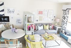 sarah m. dorsey designs: Living Room Tour