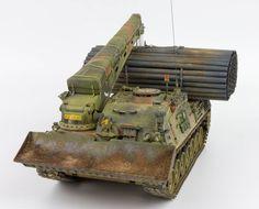 Dutch Leopard 1 Combat Engineering Vehicle (Leopard GnTk) scale model