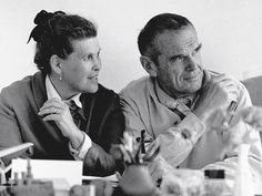 The influence of Charles and Ray Eames was integral in the launch of the furniture manufacturer Vitra. We only sell Authorised Original Eames furniture. Charles Eames, Ray Charles, Herman Miller, Harry Bertoia, Chaise Eames Dsw, Chaise Chair, Lounge Chair, Eames Chairs, Room Chairs