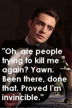 Oh, Chuck Bass. How I love and hate you.