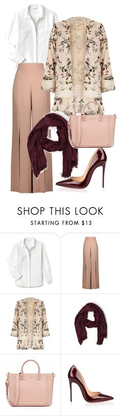 """coffee1"" by magfirahilmi on Polyvore featuring Lacoste, Cushnie Et Ochs, River Island, Aerie and Christian Louboutin"