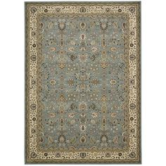 Found it at Wayfair - Antiquities Royal Countryside Slate Blue Area Rug