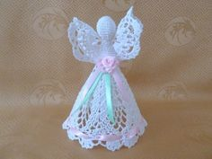 Crochet Angel by MADinUA on Etsy