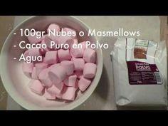 Como Hacer Fondant Negro de Nubes o Masmellows con Cacao (Negro, de Chocolate)