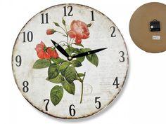 Hodiny nástenné 28 cm Maky Clock, Wall, Home Decor, Watch, Interior Design, Clocks, Home Interiors, Decoration Home, The Hours