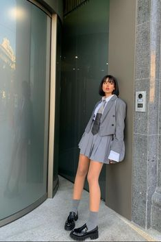 Fashion Moda, Look Fashion, Korean Fashion, Girl Fashion, Fashion Outfits, Womens Fashion, Mode Emo, Vetement Fashion, Mode Outfits