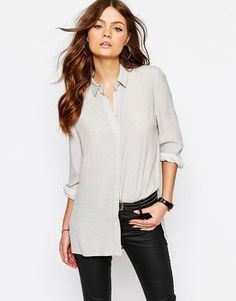 Image 1 of New Look Crepe Shirt