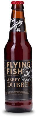 Cerveja Flying Fish Belgian Abbey Dubbel, estilo Belgian Specialty Ale, produzida por Flying Fish Brewing, Estados Unidos. 7.2% ABV de álcool.