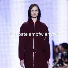 Lacoste #mbfw #nyfw