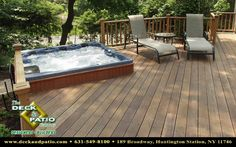 patio decks with hot tubs pictures - Bing Images