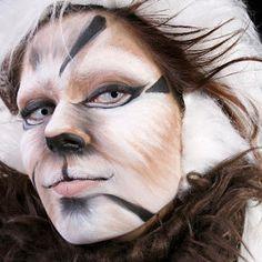 yem ramirez: tecnica de maquillaje de fantasia