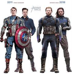 Steve rogers and bucky barnes. Marvel Avengers, Ms Marvel, Marvel Dc Comics, Super Marvel, Hero Marvel, Marvel Memes, Mundo Marvel, Captain America Costume, Captain America And Bucky