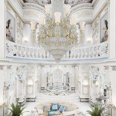 Villa Interior Design in Dubai, Palace in Dubai, Photo 17