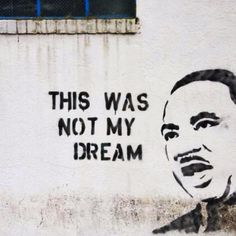 """This Was Not My Dream"" #poppingupdoc #popsurrealism #pop #popart #streetart #Graffiti #artederua #graffiti #art #artwork #contemporaryart #modernart #realcreativeart #watercolor #urbanart #cores #colores #colors #sprayart #intervention #urbanintervention #graffitiwall #kunst #photooftheday #street #graffitiart #lowbrow #lowbrowart #martinlutherking"