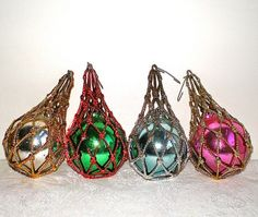 1950 Christmas Ornaments | 1950s Christmas Ornaments, Jewel Brite Ornaments, Vintage, Christmas ...