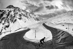 """Jered and Ashley Gruber, photographers   """"Stelvio 2"""" http://www.cyclingtips.com.au/2012/12/2012-in-photos-by-jered-and-ashley-gruber/"""
