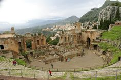 Greek Theatre, Taormina, Sicily