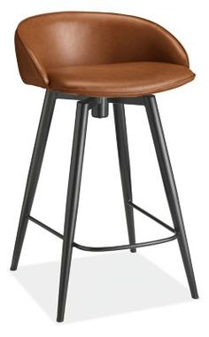 Leather Swivel Bar Stools, Leather Counter Stools, Swivel Counter Stools, Counter Stools With Backs, Modern Counter Stools, Painted Stools, Stools For Kitchen Island, Upholstered Furniture, Room Kitchen
