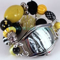 Shabby Chic Bumblebee Watch Band - Which Watch Designs