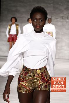 David Tlale brings his heritage and Tyson Beckford at Mercedes ...