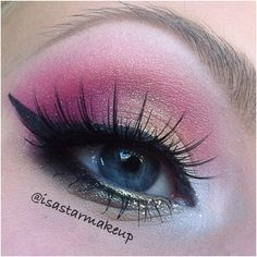 .@isastarmakeup | Todays makeup #pink #eotd #fotd #motd #makeup #makeupart #mua #mus #makeupar... | Webstagram - the best Instagram viewer