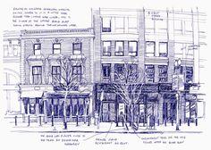 Urban Sketchers: Sketching Boston Death Penalty Trial of Dzhokhar Tsarnaev