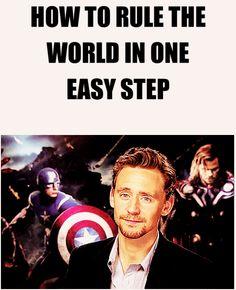 Be Tom Hiddleston