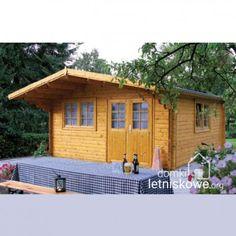 Drewniany domek ogrodowy (Wooden house) Enzo D 23 m2