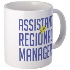 "11 ounce Mug - Assistant (to the) Regional Manager Mug - S White "" available at https://www.amazon.com/dp/B01B6M1TVO #customizedmug #drinkware #beverageware #assistant"