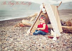Love this whole setup with this sweet baby and the a-frame tent!
