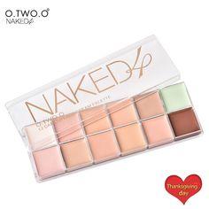 O. DOS. O Profissional Corretivo Paleta De 12 Colores de Concealer del Camuflaje Paleta Rostro Maquillaje Cosmético