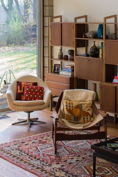 House Tour: An Inspiring Vintage Modern Home   Apartment Therapy