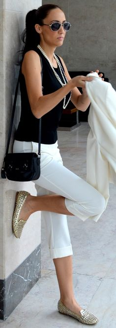 Black and white                   Amazing Business Outfits Black and white