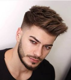 Outstanding Modern Haircuts for Men Trending Hairstyles For Men, Popular Mens Hairstyles, Cool Hairstyles For Men, Boy Hairstyles, Haircuts For Men, Hairstyles Pictures, Formal Hairstyles, Haircut Styles For Boys, Natural Hairstyles