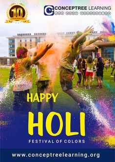 Holi is the day to strengthen the bond of friendship and add more colors to it. Enjoy the festival to its fullest! Happy Holi!