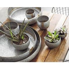 Roost Braza Mini Tall / Wide Planters