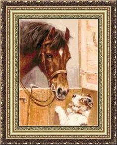 Gallery.ru / Фото #6 - Конь и пес. - karatik