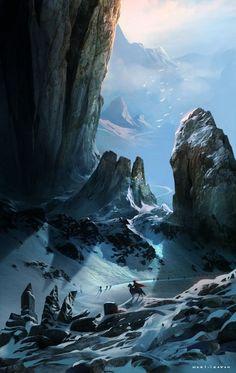 epic mountain range - Google Search