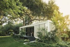 Why Now, More Than Ever, the ADU Is the Future of Home - Dwell Fresco, Studio Decor, Solar, Backyard Office, Outdoor Office, Tiny House Blog, Modern Prefab Homes, Modular Homes, Metal Siding