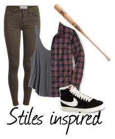 Stiles inspired by twfs on Polyvore featuring Mode, RVCA and NIKE