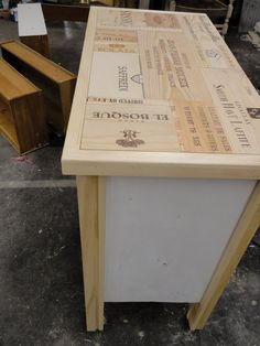 JunkFest: Wine crates: They aren't just for breakfast anymore! :)