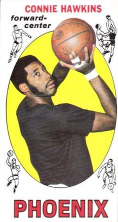 1969-70 Topps #15 Connie Hawkins Front