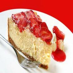 Receitas Rápidas e Fáceis: Como fazer Cheesecake de Morango