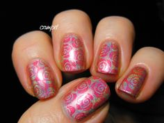 New Brands for 2014 - Crumpet Reviews Nella Milano (stamping?) polishes