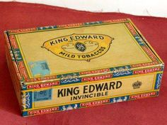 Keep the empty cigar box to keep stuff, letters and knick knacks.